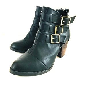 Target black ankle boots